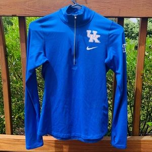 EUC Nike UK Wildcats Quarter Zip Pullover